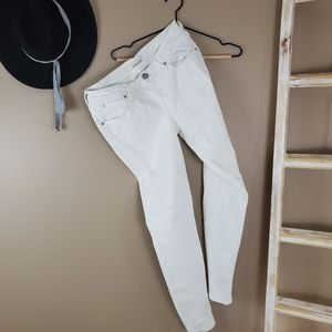 Maurices | White Distressed Jeans